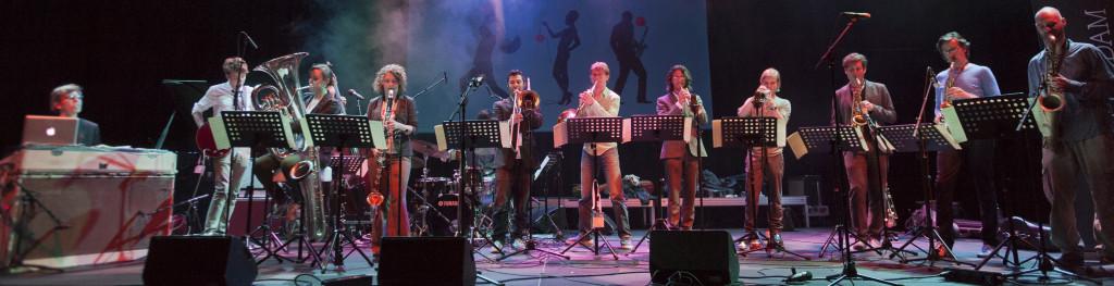 New Rotterdam Jazz Orchestra by EDDY WESTVEER
